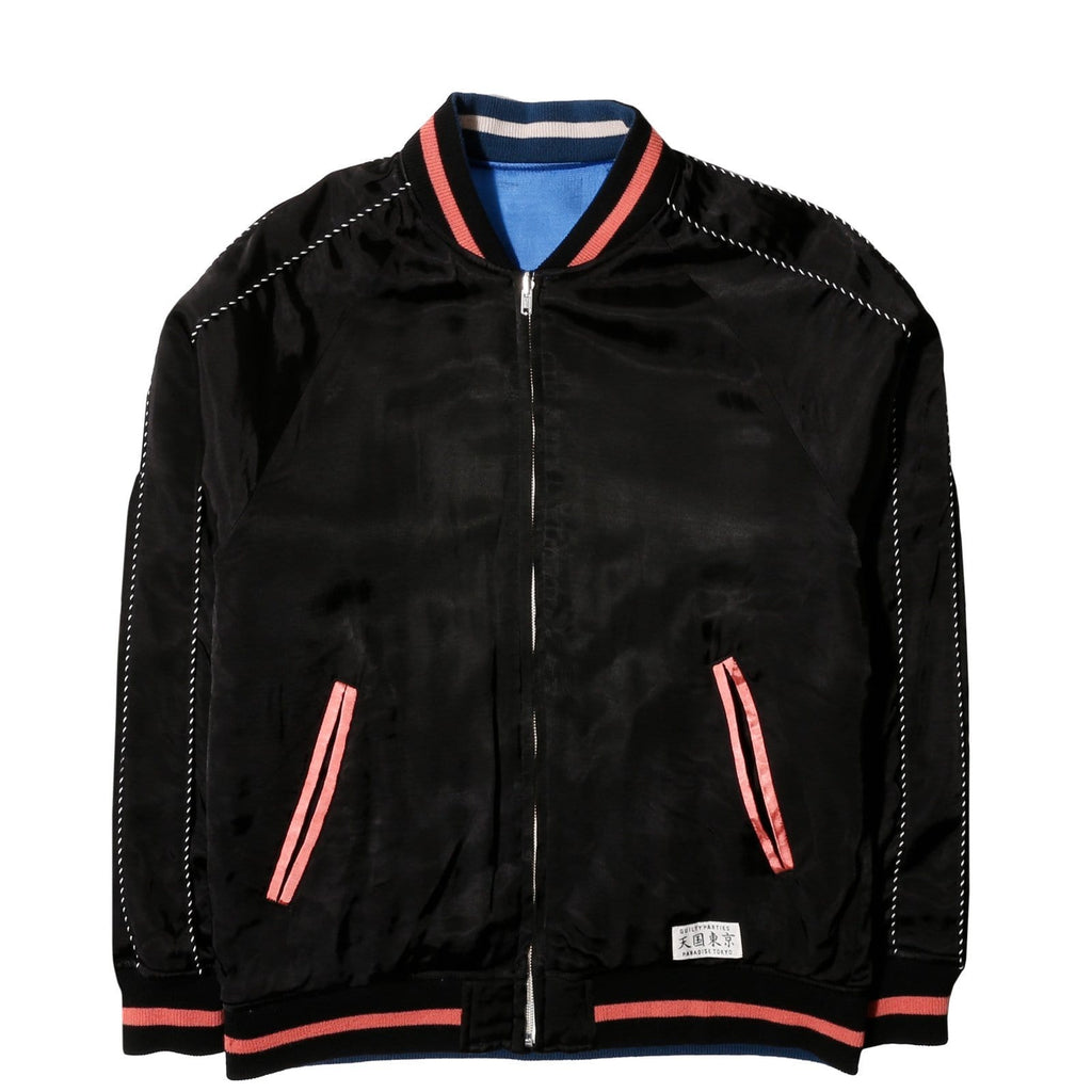 Wacko Maria REVERSIBLE SKA JACKET -A- ( TYPE-3 ) Black/Blue