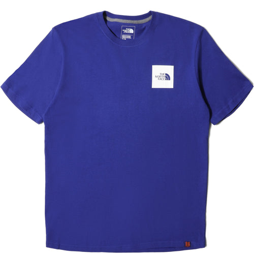 The North Face Black Box Collection M S/S MODIFIED HEAVYWEIGHT TEE (AZTEC BLUE) [NF0A3SY1]