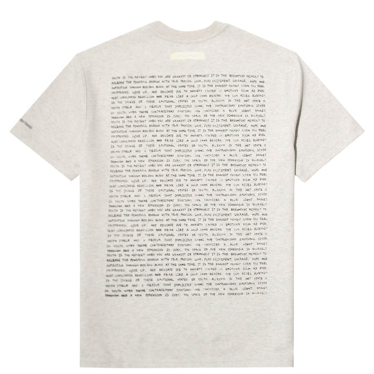 Ader Error T-Shirts PRINT AT FRONT T-SHIRT