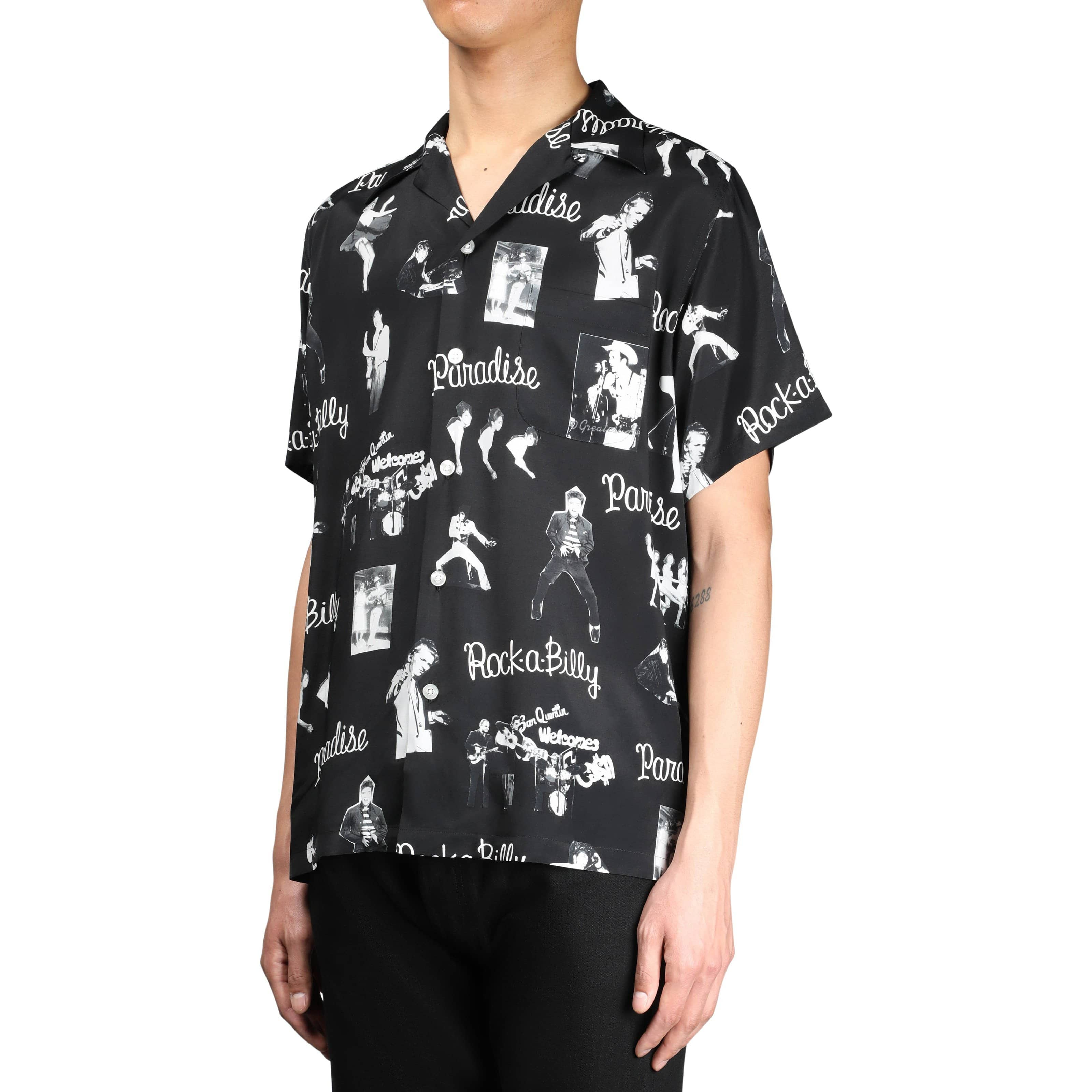 Wacko Maria Shirts ROCKABILLY S/S HAWAIIAN SHIRT