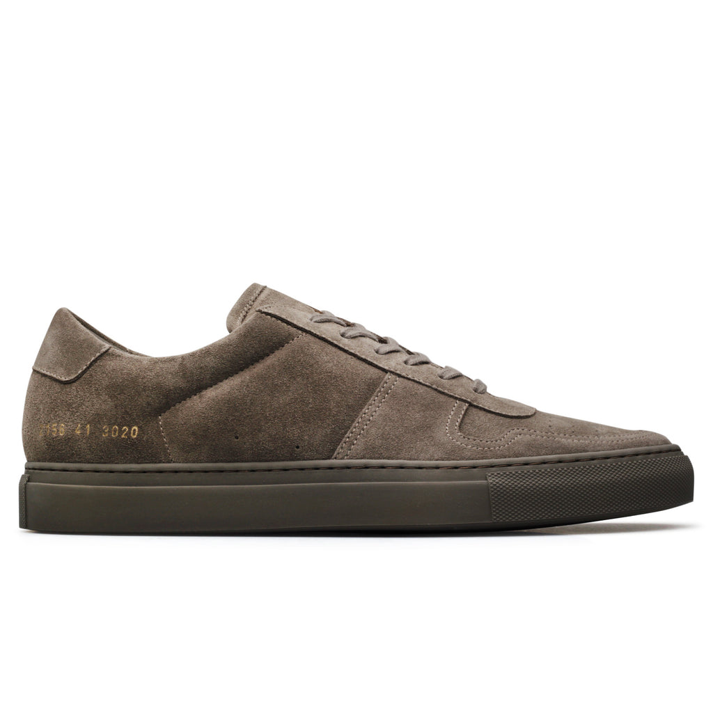 Common Projects BBALL LOW IN SUEDE Medium Brown
