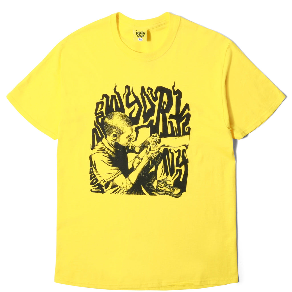 Iggy ST. MARKS T-SHIRT Yellow
