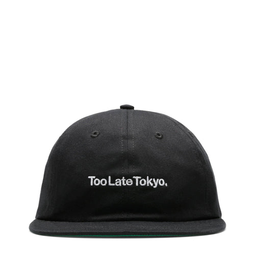 Futur COTTON TOO LATE CAP Black