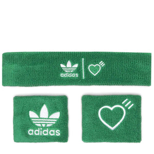 adidas Bags & Accessories GREEN / O/S X Human Made H/W BANDS