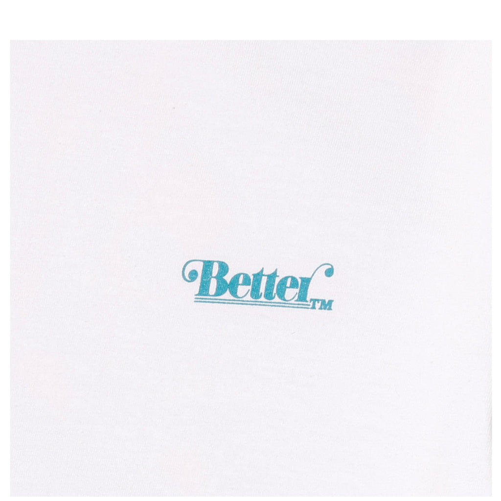 Better tm BETTER PEACOCK TEE White