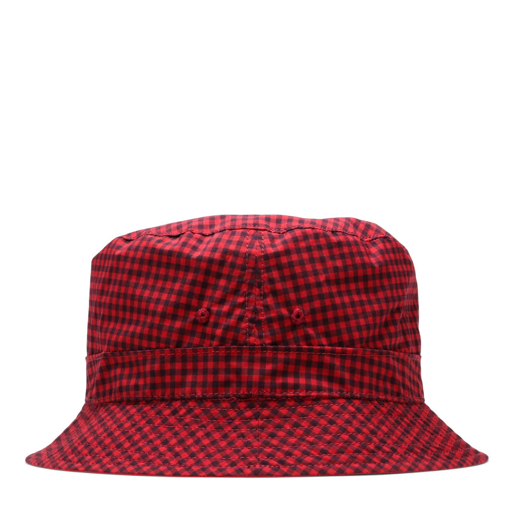 fa39d00e60163 Nanamica GINGHAM REVERSIBLE HAT Red