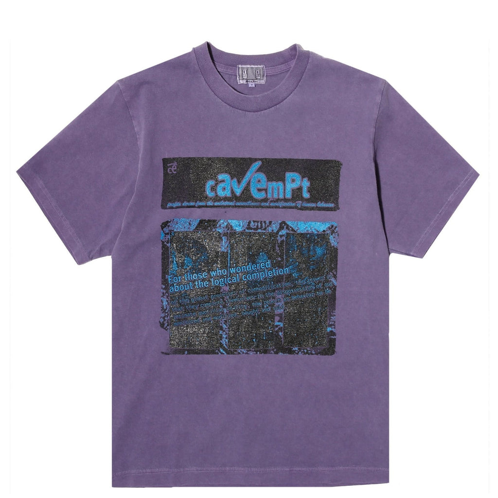Cav Empt LOGICAL COMPLETION OVERDYE T Purple