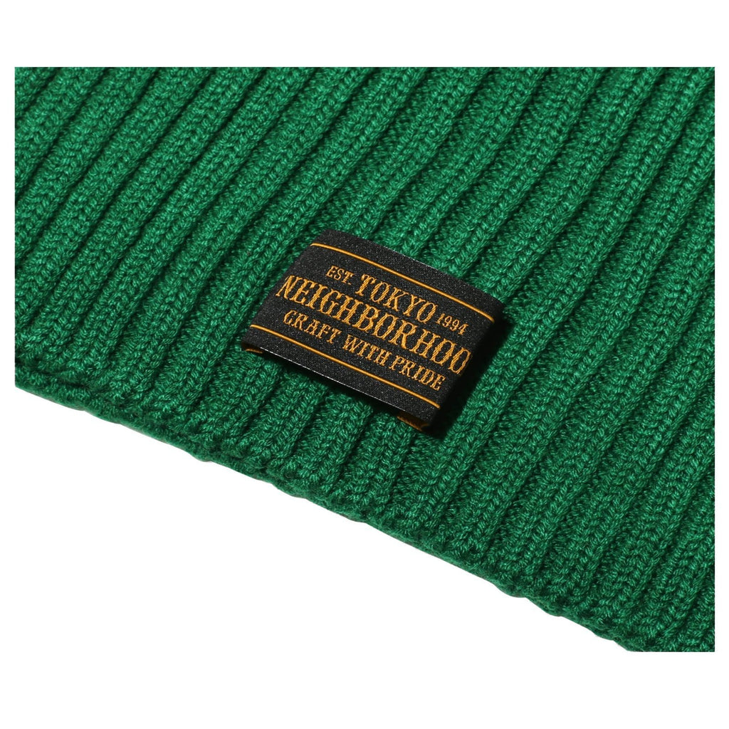 Neighborhood BEANIE / AW-CAP Green
