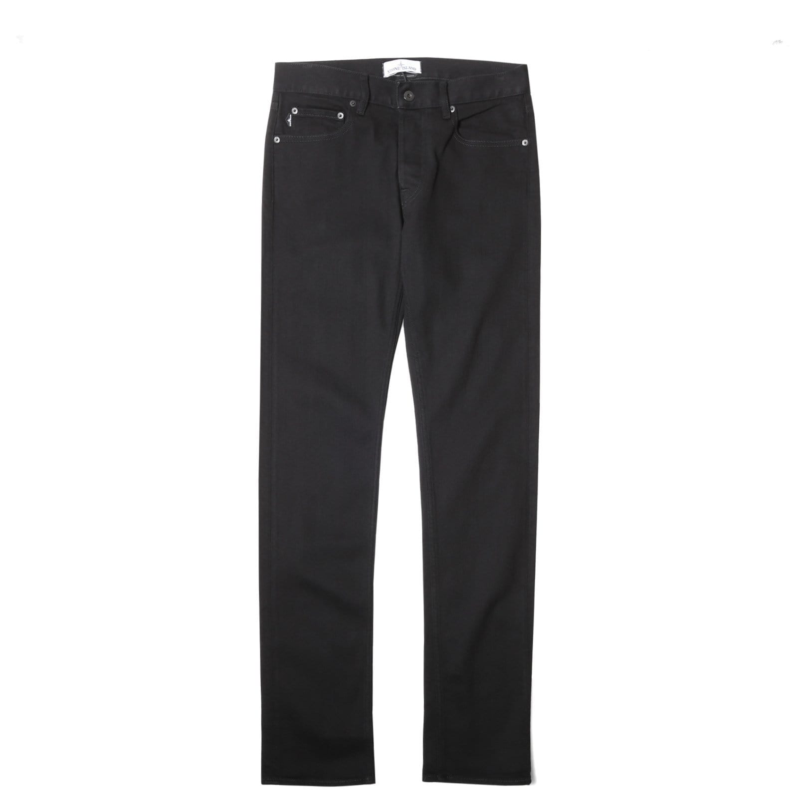 Stone Island 5 POCKET PANTS6915J1BQ1 Black