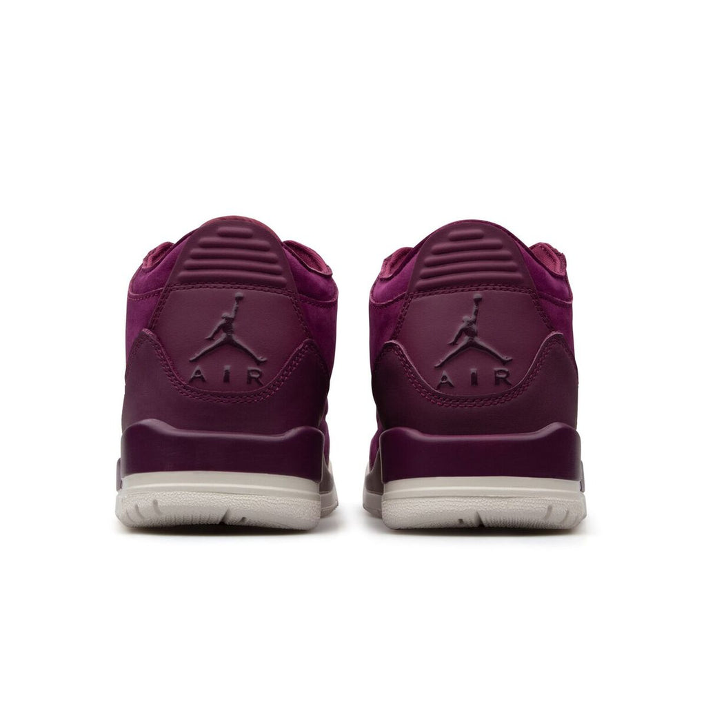 JJordan Brand WOMEN'S AIR JORDAN 3 RETRO SE (Bordeaux/Bordeaux-Phantom)[AH7859-600]