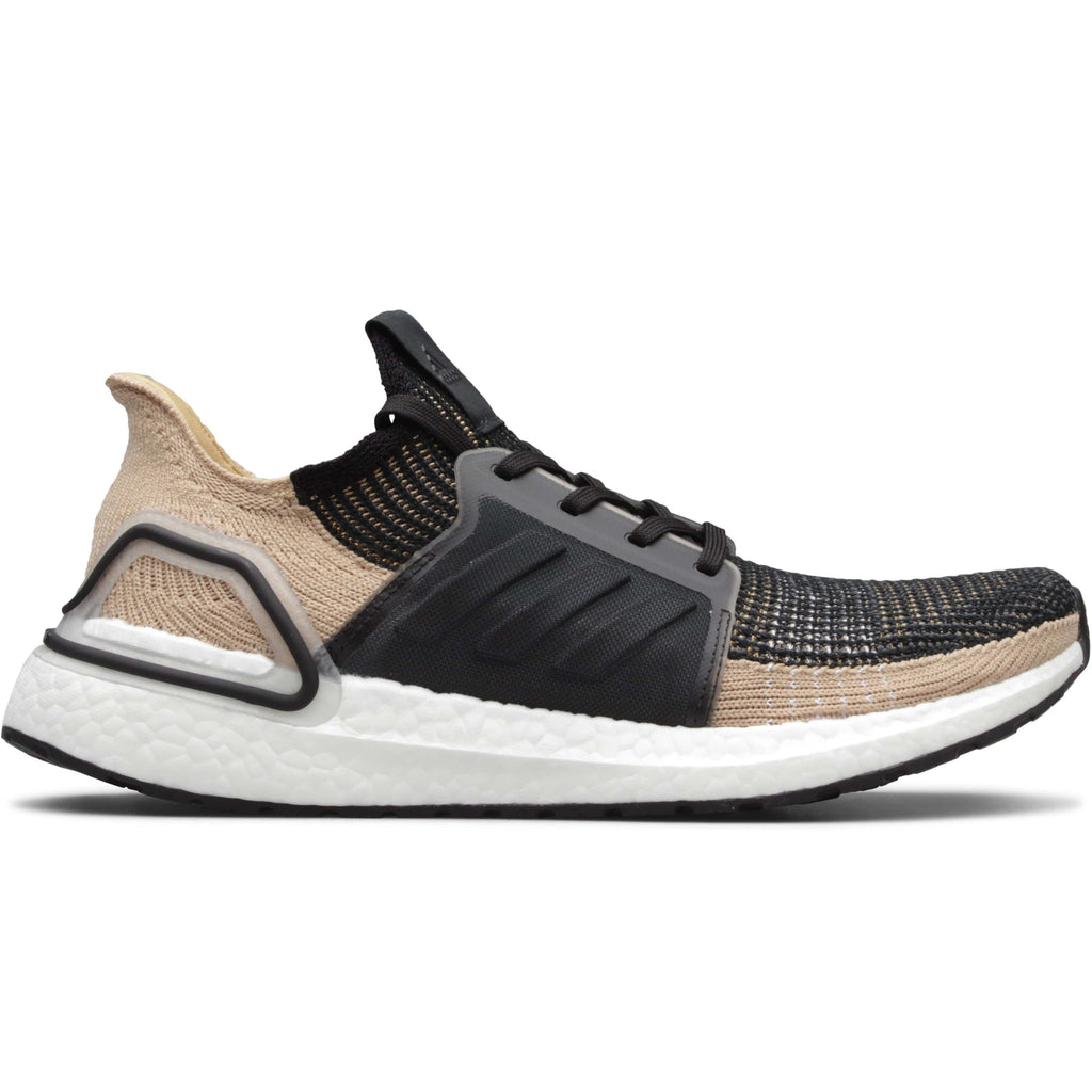 da6f53013cd Adidas ULTRABOOST 19 Core Black Raw Sand Grey