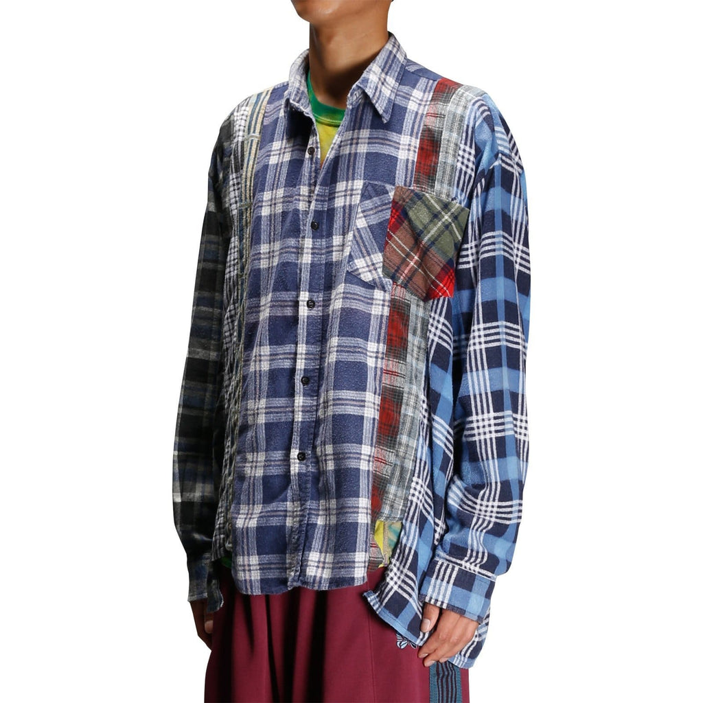 Needles WIDE 7 CUTS FLANNEL SHIRT 1 Assorted
