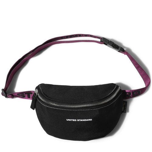 United Standard LOGO FANNY PACK Black