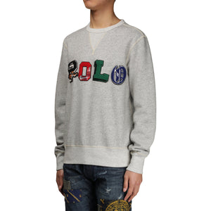 Ralph Lauren Hoodies & Sweatshirts VINTAGE FLEECE LONG SLEEVE KNIT