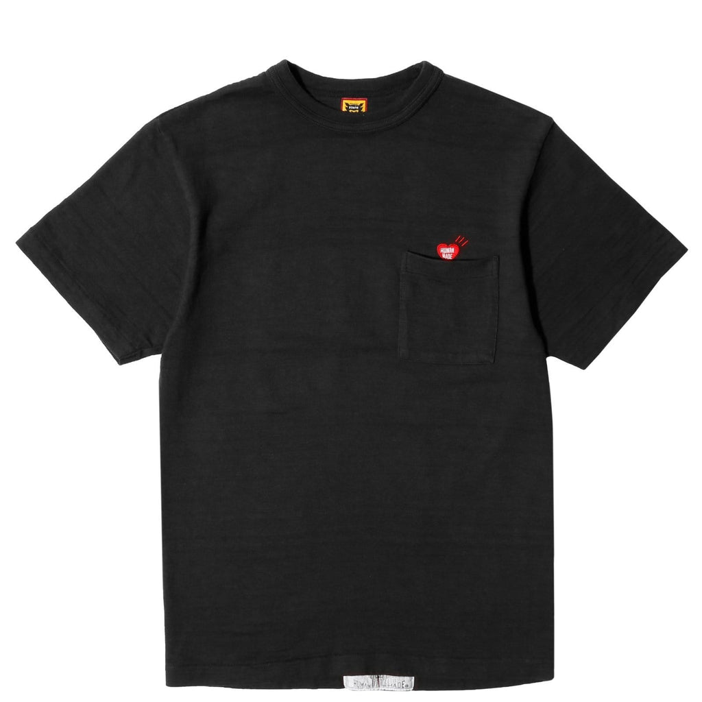 Human Made PRINT POCKET T-SHIRT#02 Black