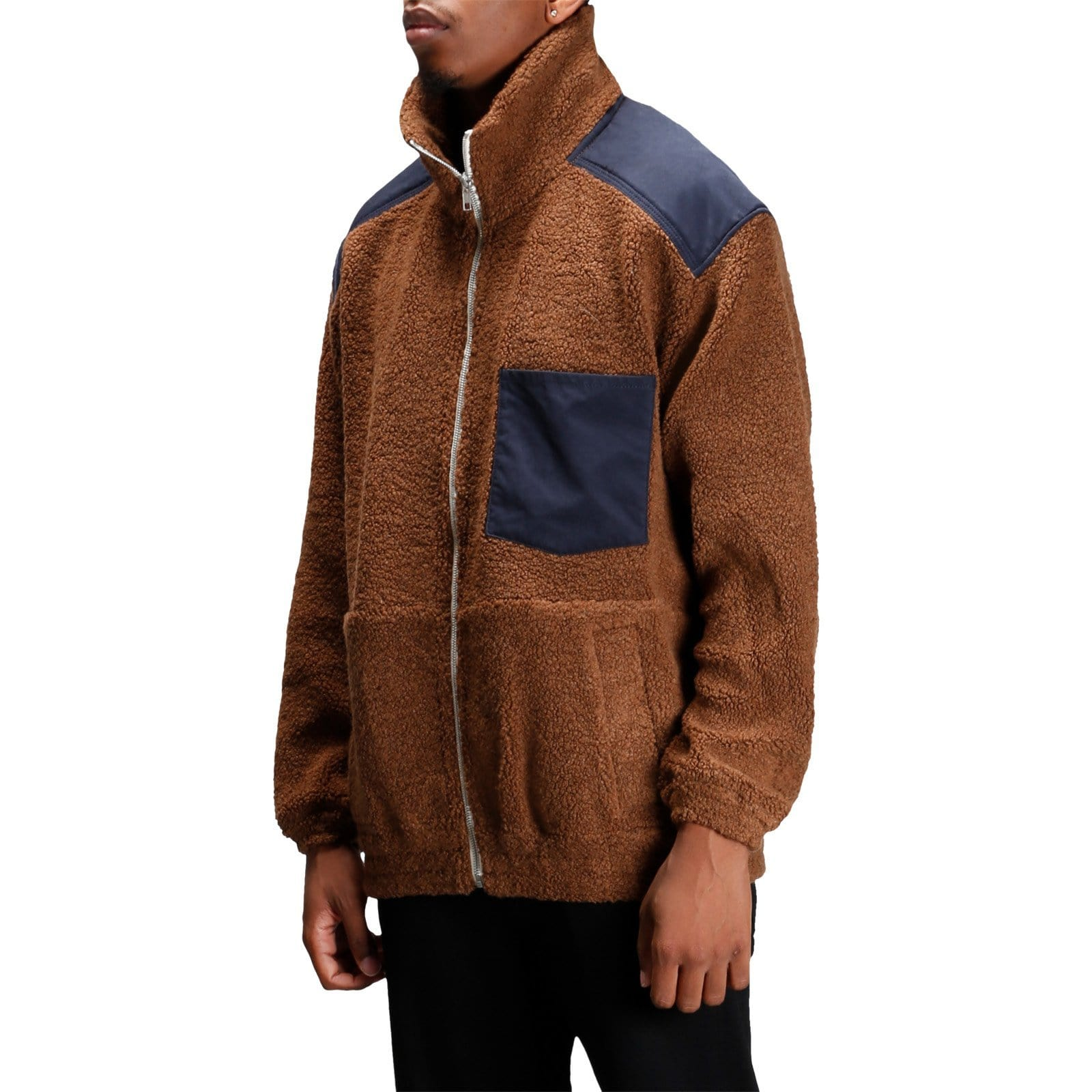 Nanamica PILE JACKET Brown