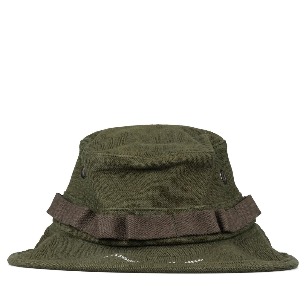 Stussy JUNGLE CLOTH BOONIE HAT Olive