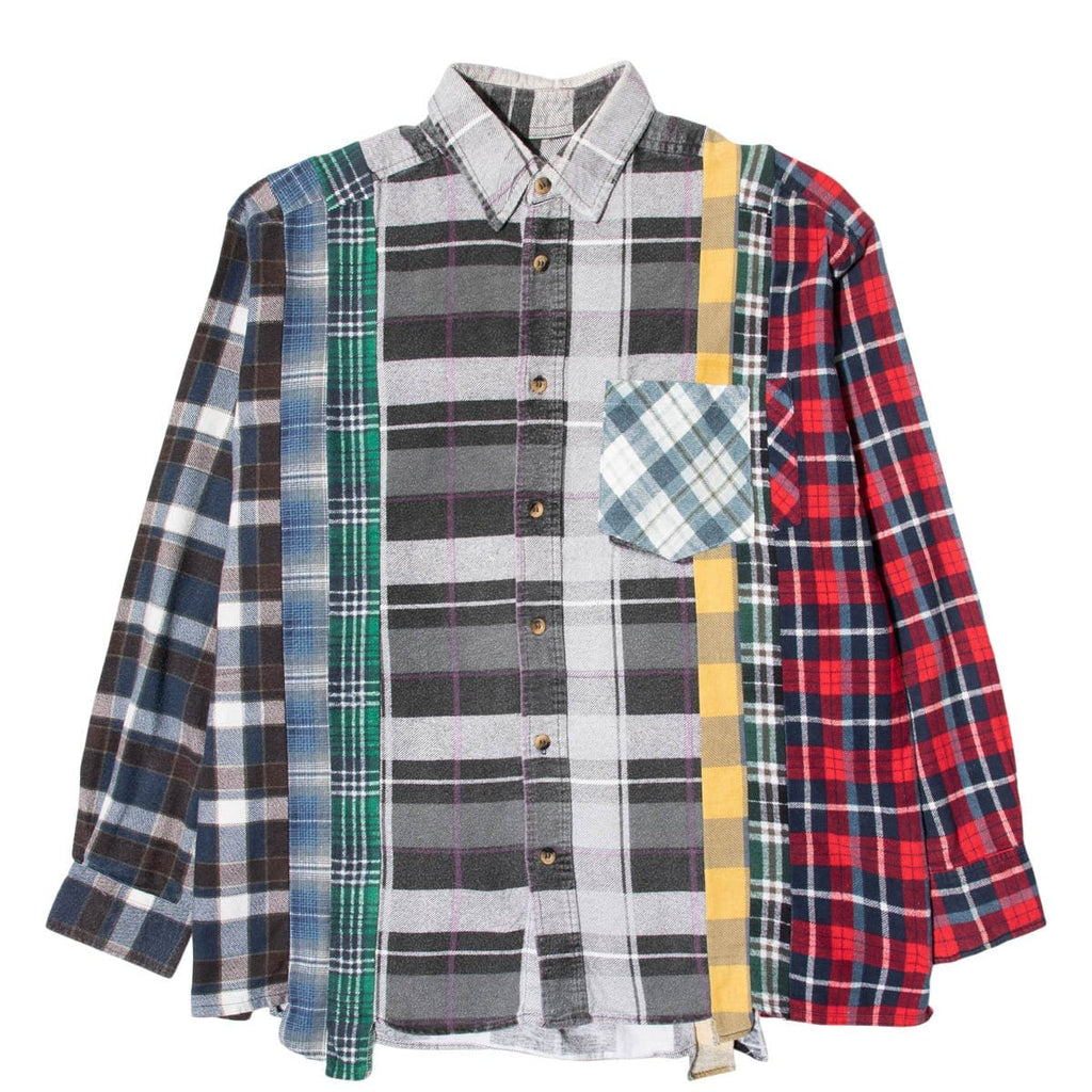 Needles Shirts ASSORTED / XL 7 CUTS FLANNEL SHIRT SS21 27