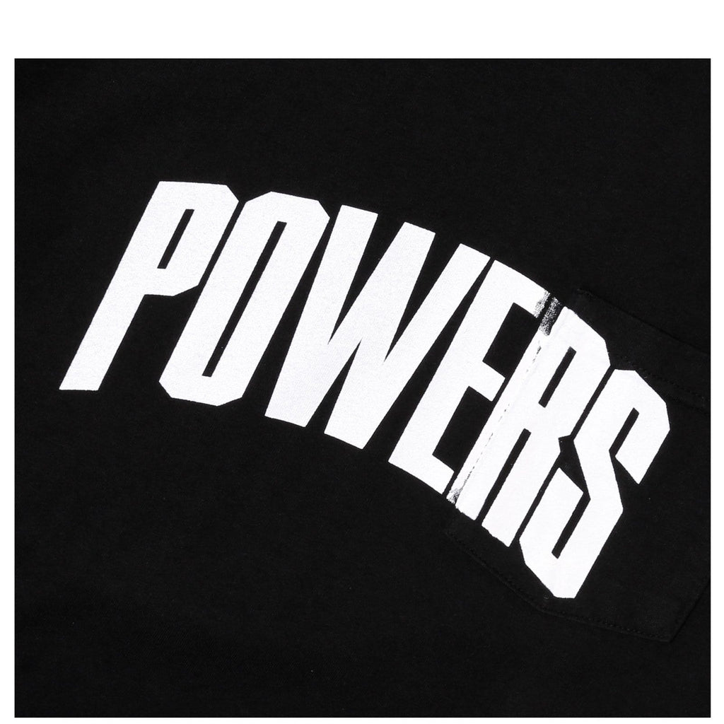 Powers KILROY POCKET TEE Black