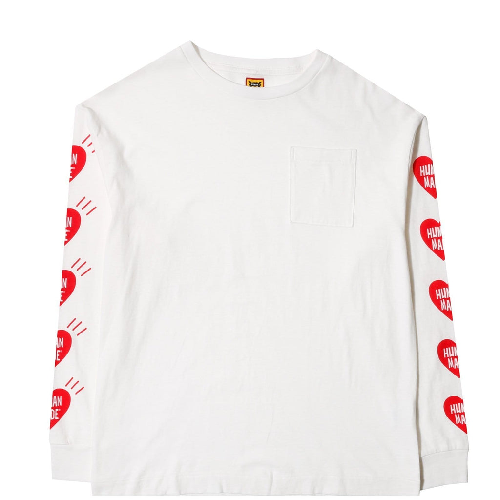 Human Made POCKET LONG-T White