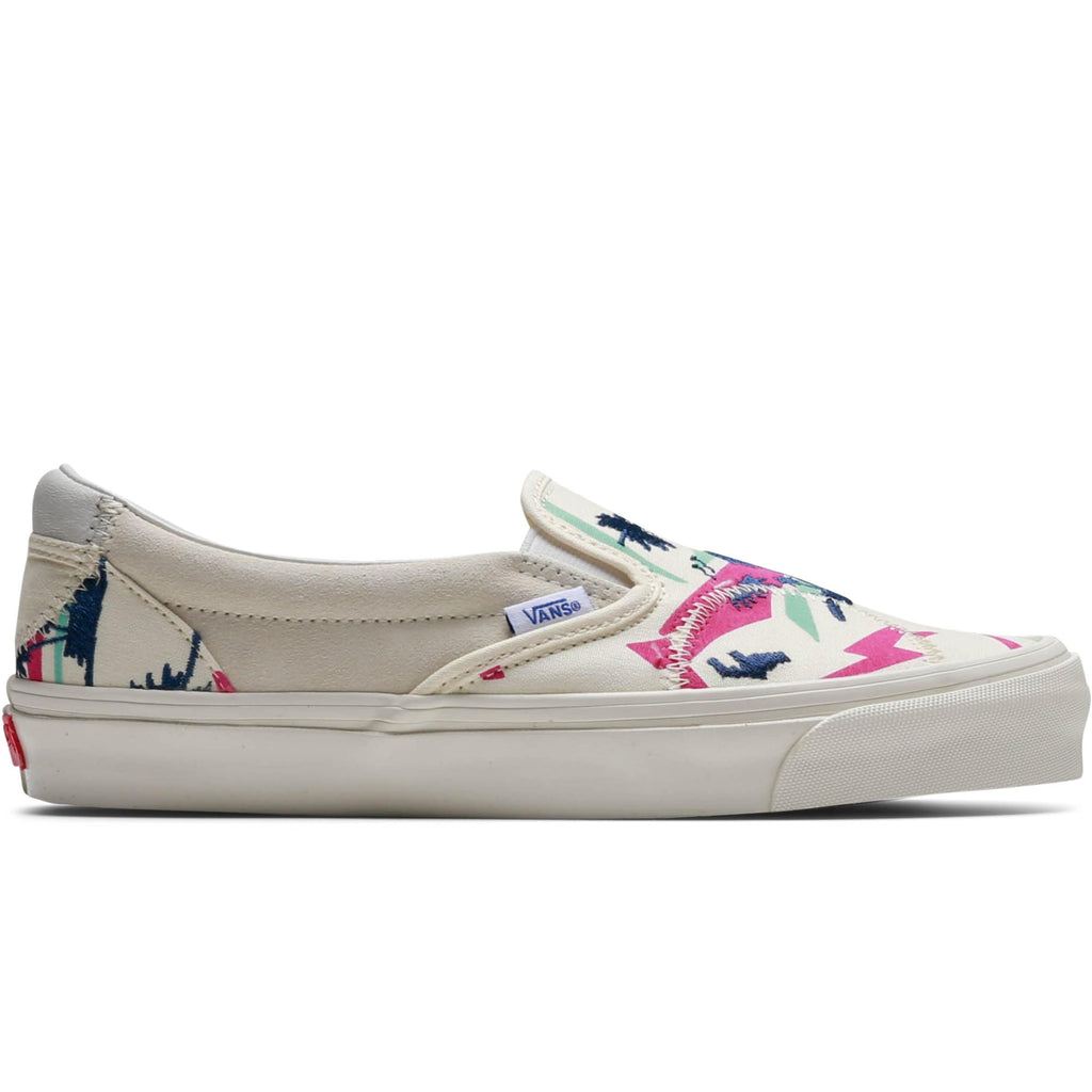 Vault by Vans SLIP-ON BRICOLAGE LX White