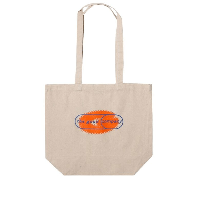 The Good Company SHINE TOTE BAG Orange/Blue