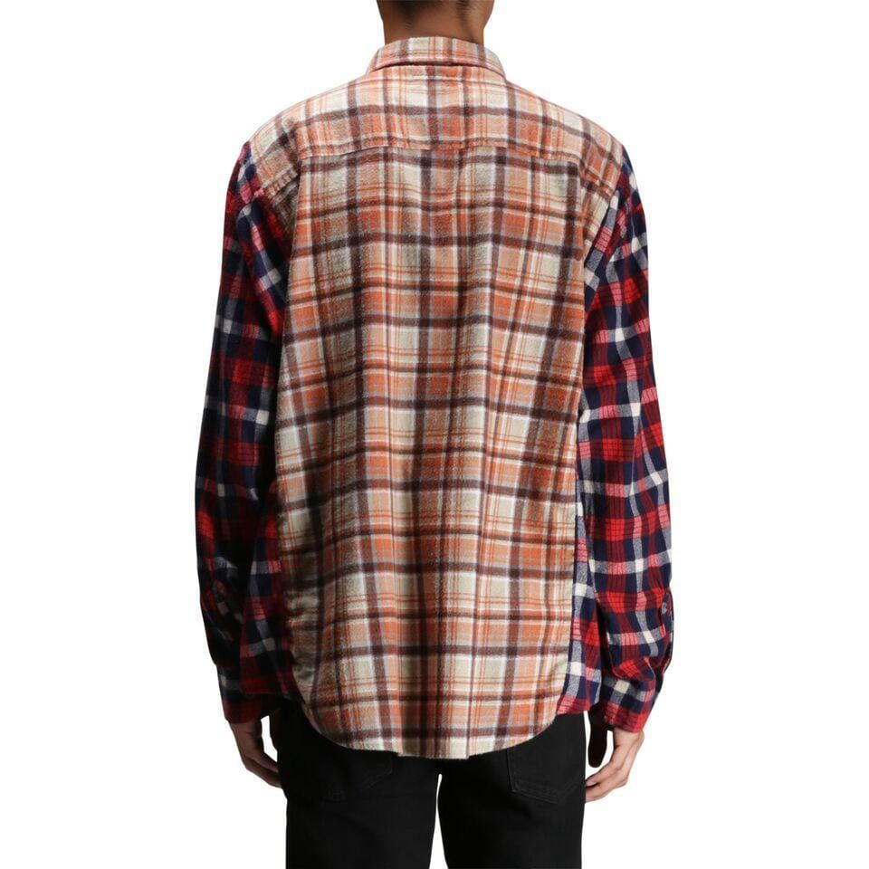 Needles WIDE RIBBON FLANNEL SHIRT 2 Assorted Colors