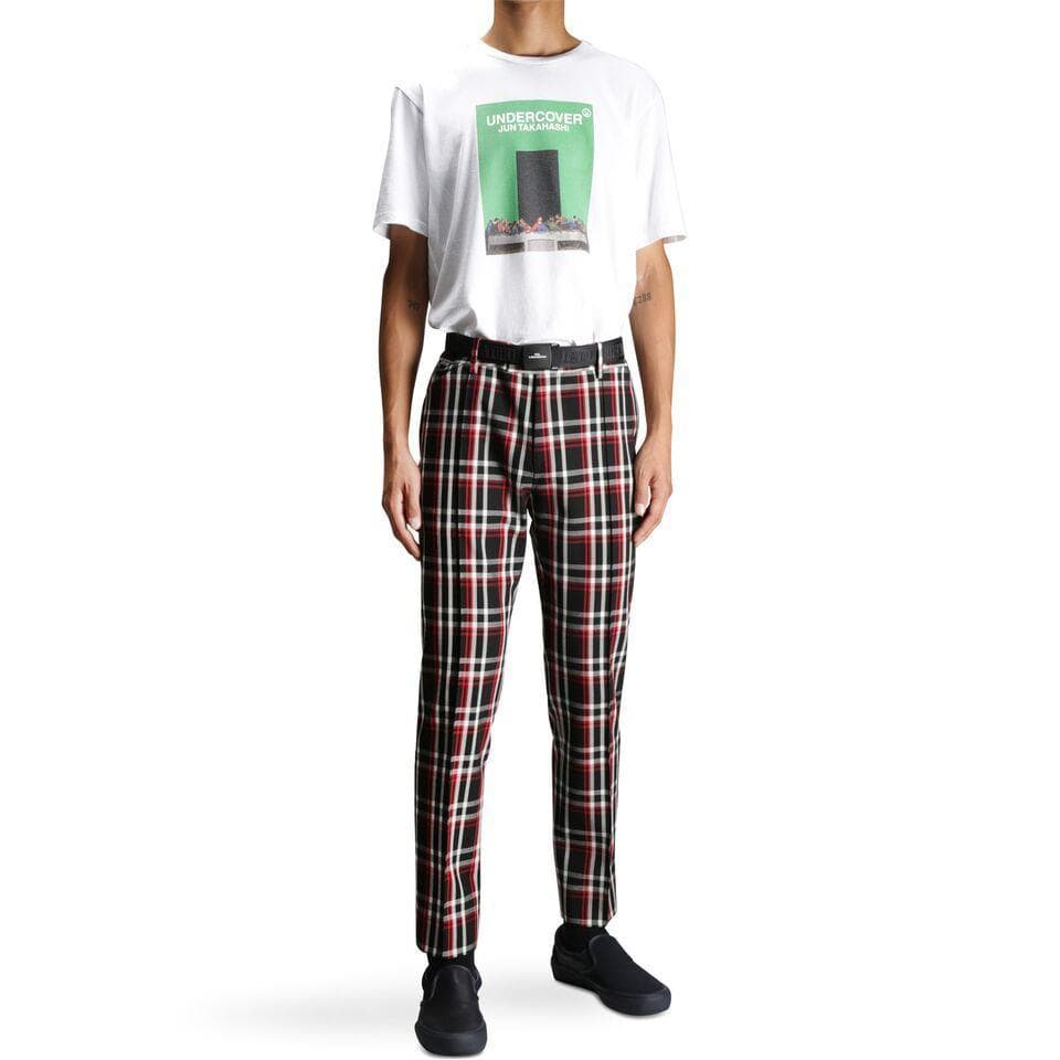Undercover UCV4503-1 PANTS Black Check