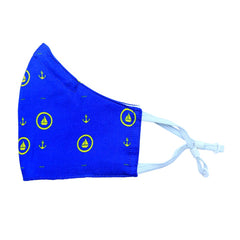 Blue & Yellow Sailor Silk Mask