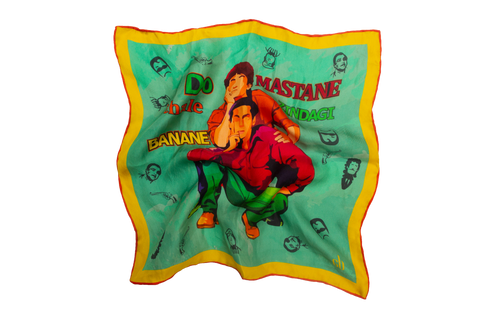 Andaz Apna Apna Silk Pocket Square