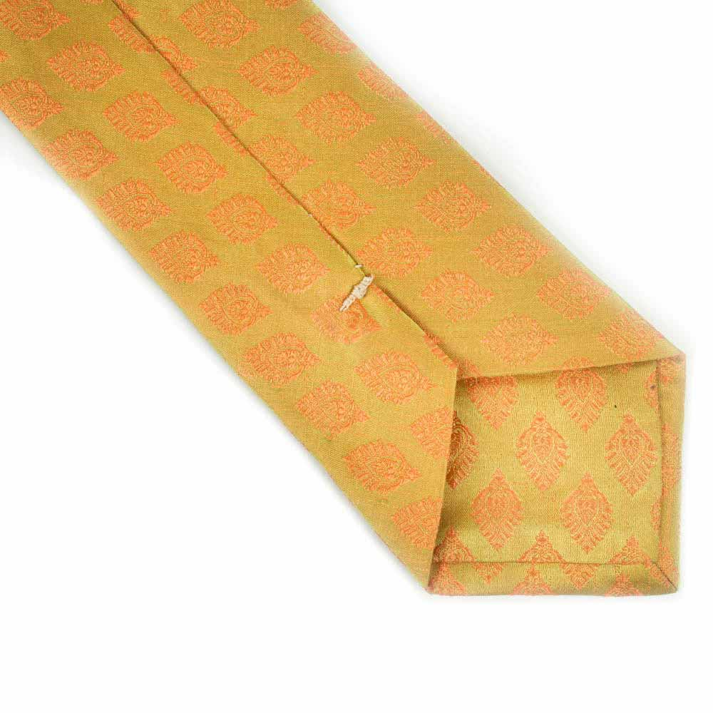Flaming Knight Silk Necktie