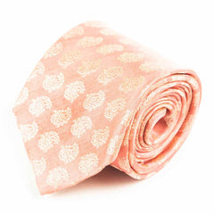 Pinks From Persia Silk Necktie