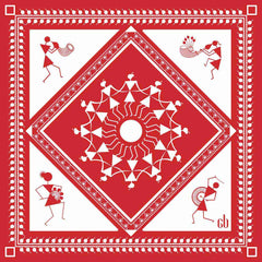 Sharing Tradition Silk Pocket Square