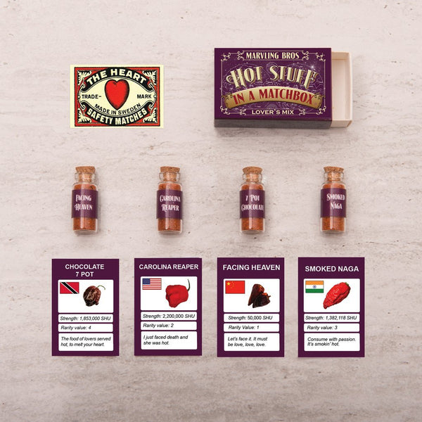 Marvling Bros. | Lover's Mix: World's Hottest Chilli Powders