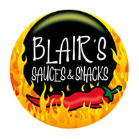 Blair's Death Sauce Logo for BLONDE CHILLI (Australia)