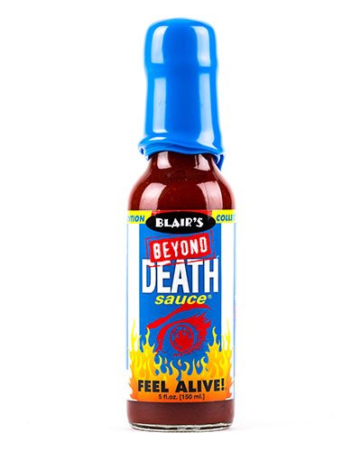Blair's Beyond Death Sauce at BLONDE CHILLI