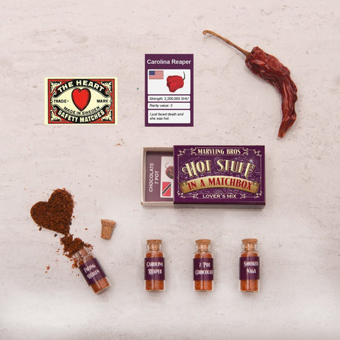 LOVER'S MIX: HOTTEST CHILLI POWDERS