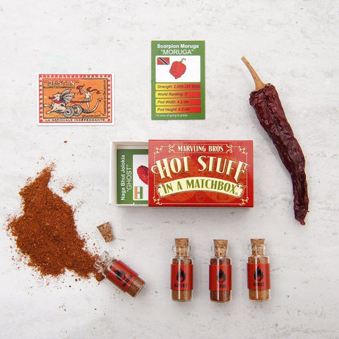 HOT STUFF IN A MATCHBOX by Marvling Bros LTD