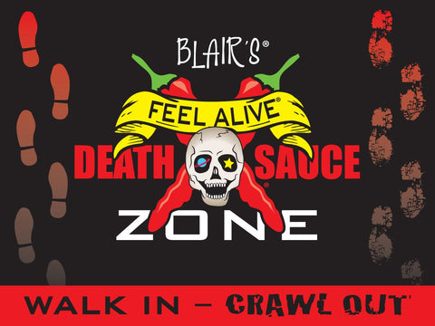 Blair's Death Sauce Zone Floor Mat
