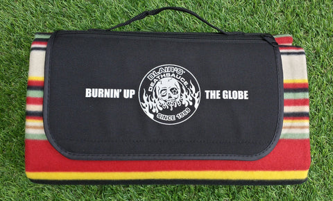 Blair's Death Sauce Picnic Blanket