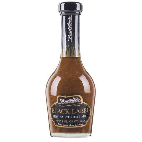 Bunsters Black Label Hot Sauce at BLONDE CHILLI