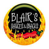 Blair's Death Sauce Logo at BLONDE CHILLI