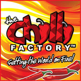 THE CHILLI FACTORY Fiery Frillneck Hiss Hot Smokey Chilli Tomato Sauce