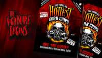 The World's Hottest Corn Chips from Chilli Seed Bank. Available in Australia at Blonde Chilli.