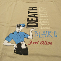 "Blair's Death Sauce ""Retro Diner"" tee"