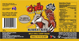 The Chilli Factory Numbat Nibble Mild Chilli Satay Sauce. Australian Hot Sauce sold by Blonde Chilli Australia.