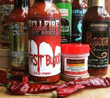 Hot Sauce Club Australia - Hellfire, Volcanic Peppers, Voodoo Chile, Heartbreaking Dawns, Blair's Death Sauce, Culley's, Born To Hula.