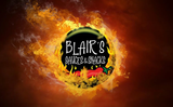 Blair's Death Sauce Logo for BLONDE CHILLI