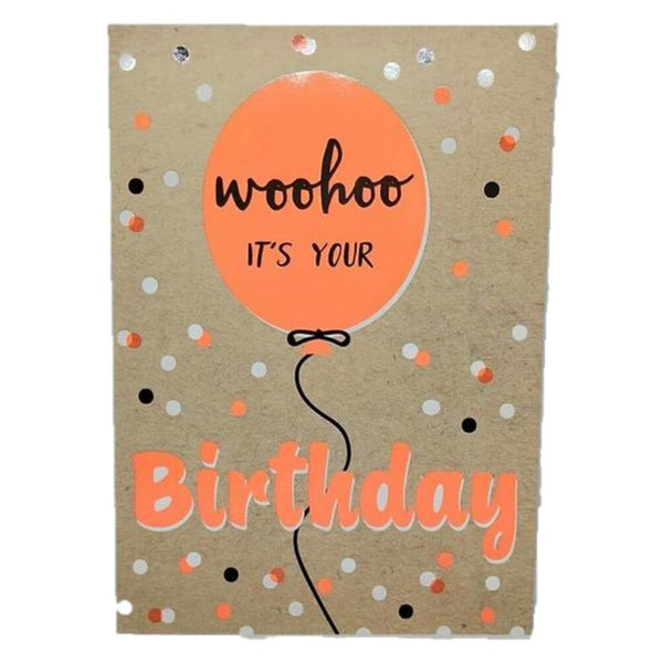 Woohoo It's Your Birthday card