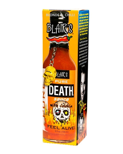 Blair's Pure Death Sauce at BLONDE CHILLI (Australia)